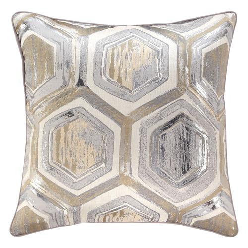 Silver Meila Cushion
