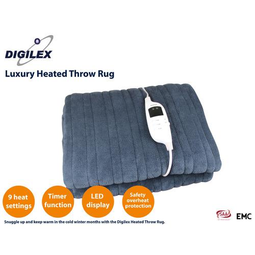 Digilex Luxury Heated Throw Rug