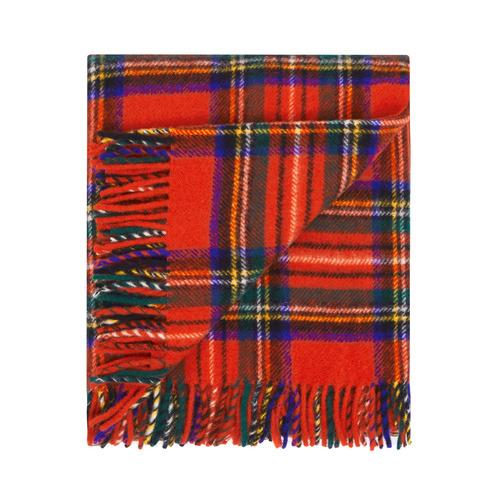Waverley Mills Royal Stewart Merino Wool Throw Rug