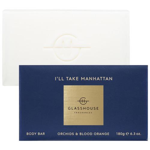 Glasshouse Fragrances 180g I'll Take Manhattan Bar Soap