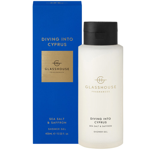 400ml Diving Into Cyprus Shower Gel