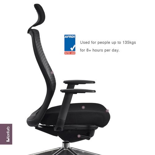 Konfurb Luna Mesh Office Chair