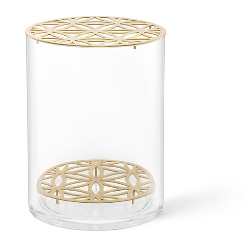 Nordic Rooms Bloom Glass Vase with Insert