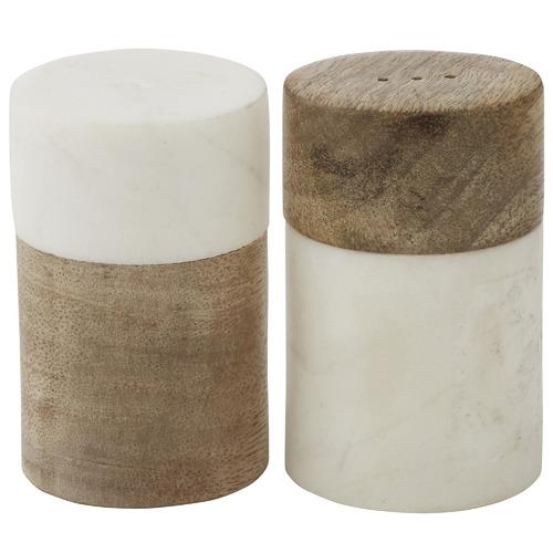 2 Piece Eliot Salt & Pepper Shaker Set