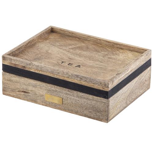 James Wooden Tea Box