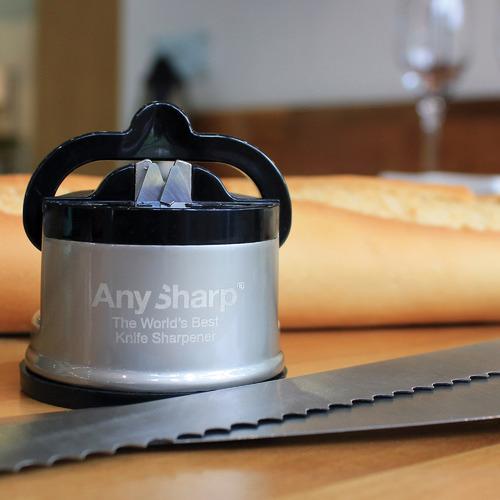 Grey & Black Pro Metal Knife Sharpener