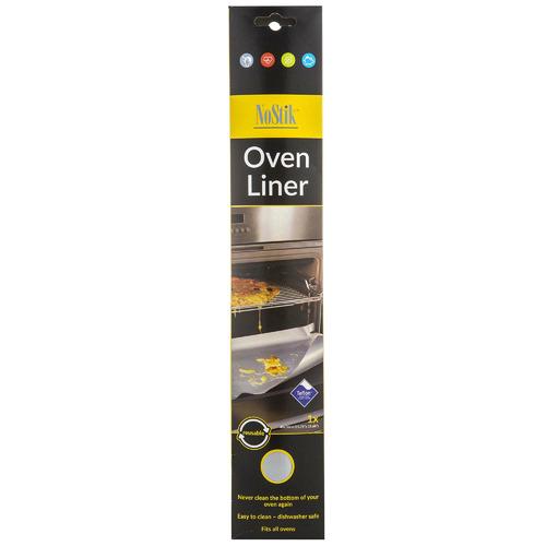 NoStik Silver Reusable 50cm Non-Stick Oven Protector