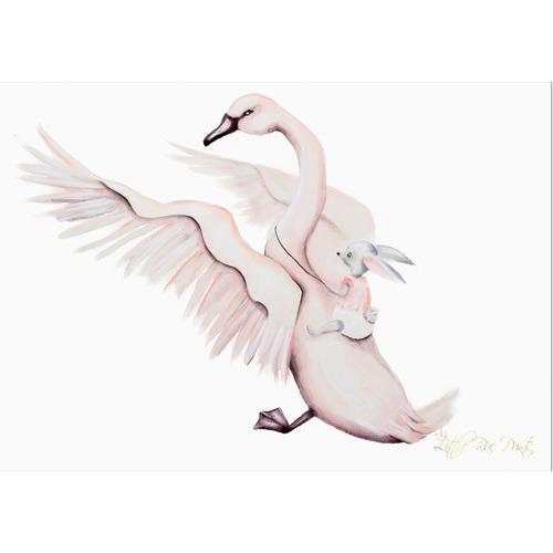 Little Rae Prints Wings Unframed Paper Print