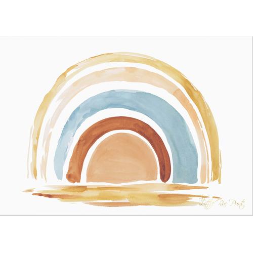 Little Rae Prints Rainbow Unframed Paper Print