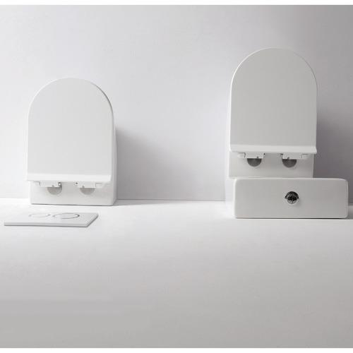 Belbagno Flay-R Ceramic Wall Mounted Pan