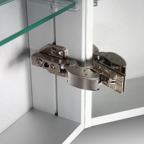 Belbagno Olongapo 3 Door Vanity Mirror & Storage Cabinet