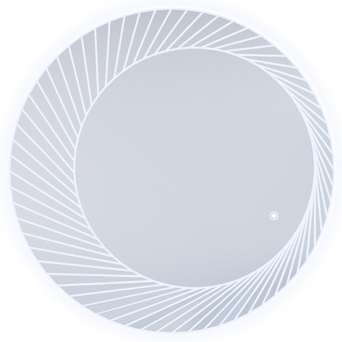 Belbagno Bucciano Round LED Bathroom Wall Mirror