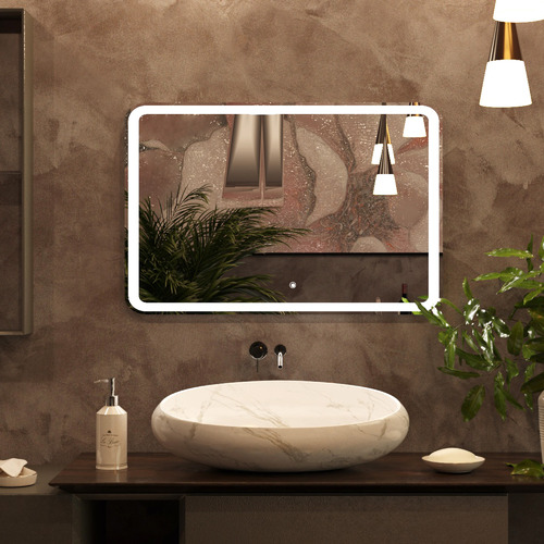 Belbagno Pasay Rectangular LED Bathroom Wall Mirror