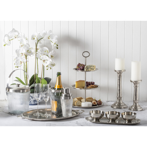 The Home Collective 7 Piece Zahil Steel Condiment Set