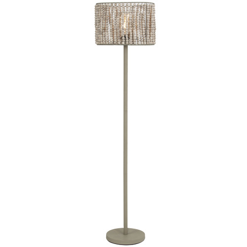 The Home Collective Miza Wooden Floor Lamp