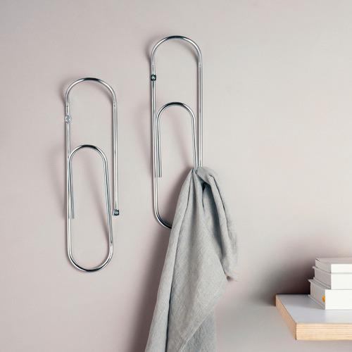 Eustas Paper Clip Steel Coat Hook