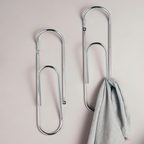 Eustas Paper Clip Steel Wall Hook