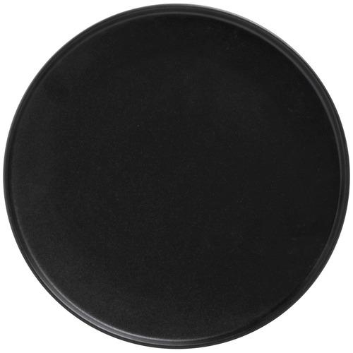 Black Caviar High Rim 27cm Porcelain Dinner Plates
