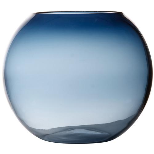 Flourish Glass Rose Bowl Vase