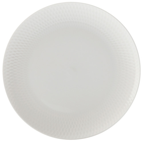 White Basics Diamonds 18cm Porcelain Side Plates