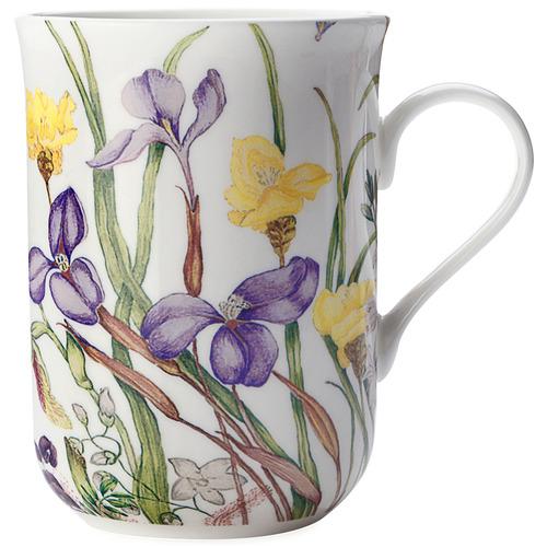 Iris Royal Botanic Garden by Euphemia Henderson 300ml Mug