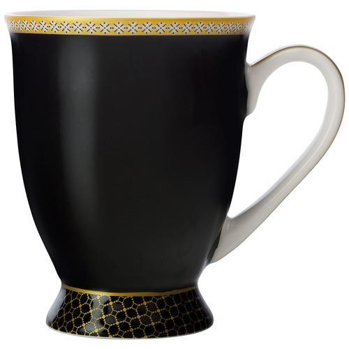 Maxwell & Williams Black Teas & C's Contessa Classic 300ml Footed Mug