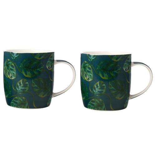 Monstera Haven 380ml Mugs