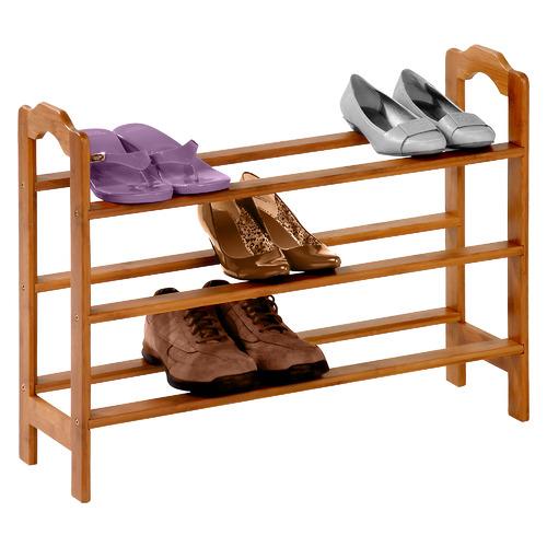 Yamazaki 3 Tier Bamboo Shoe Rack
