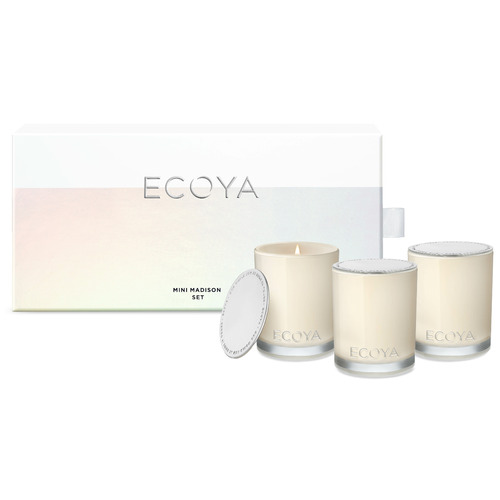 Ecoya 3 Piece Mini Soy Candle Gift Set