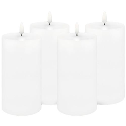 Uyuni Remote Enabled LED Wax Pillars