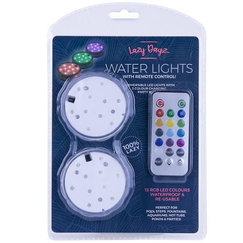 Lazy Dayz Lazy Dayz Pool Lights with Remote Control