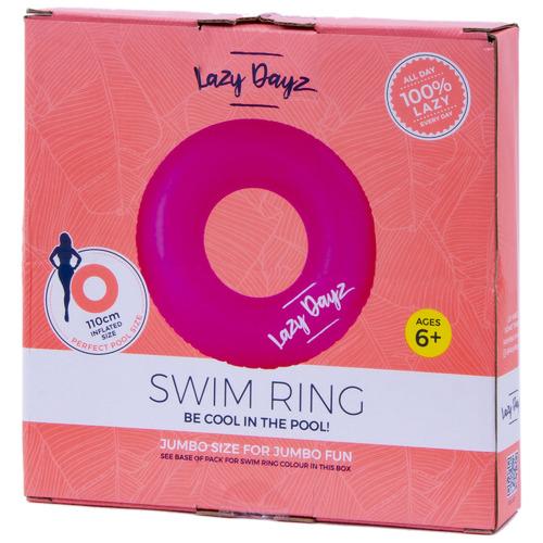 Lazy Dayz Lazy Dayz Inflatable Swim Ring