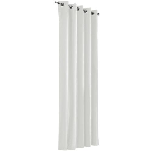 Odyssey Fabrics White Alyssa Eyelet Blockout Curtains
