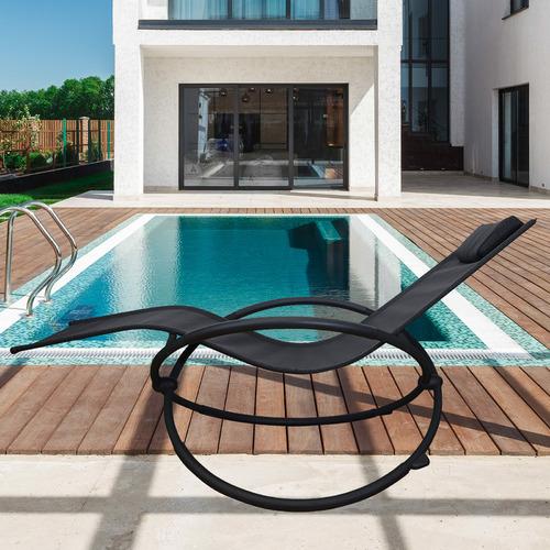 Arcadia Furniture Zero Gravity Outdoor Rocking Chair