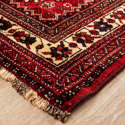 The Handmade Collection Rose Wool Persian Shiraz Rug