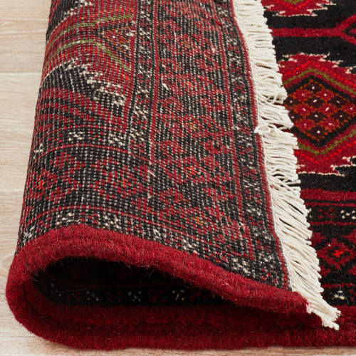 The Handmade Collection Faded Red Wool Balouchi Rug