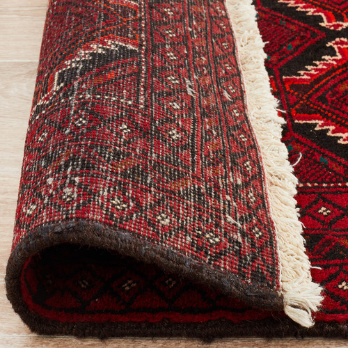 The Handmade Collection Ruby Hand-Knotted Wool Balouchi Rug