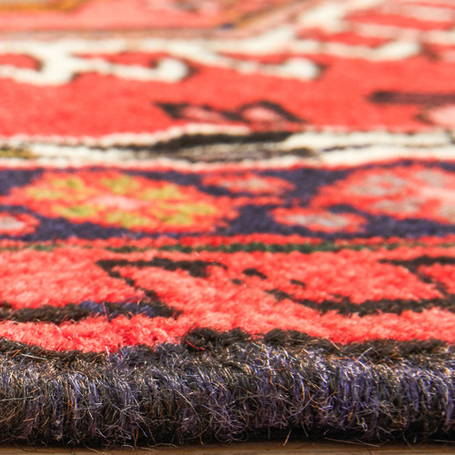 The Handmade Collection 463 x 77cm Persian Hand-Knotted Wool Gharajeh Runner