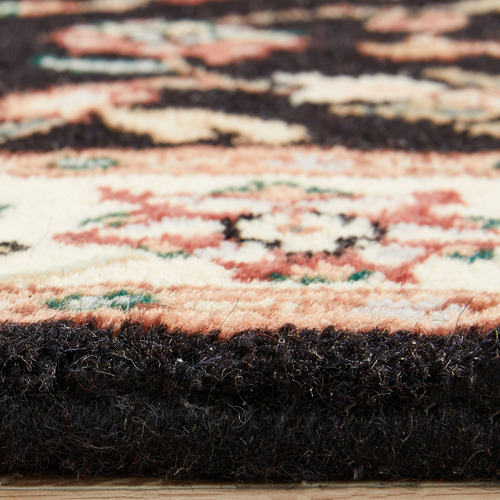 The Handmade Collection 249 x 83cm Indian Hand-Knotted Wool Jaipur Runner