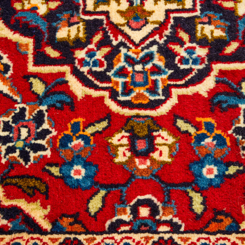 The Handmade Collection 304 x 94cm Persian Hand-Knotted Wool Kashan Runner