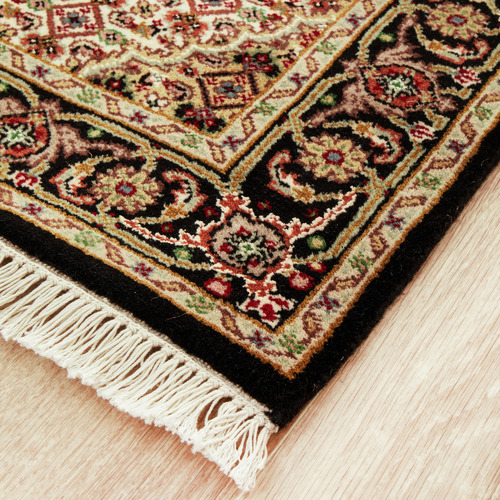 The Handmade Collection 250 x 78cm Persian Hand-Knotted Wool Mahi Runner