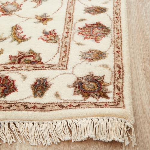 The Handmade Collection 608 x 78cm Persian Hand-Knotted Wool Narayan Runner