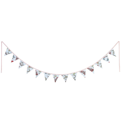 May Gibbs by Ecology 275cm Blue Blossom Cotton Bunting