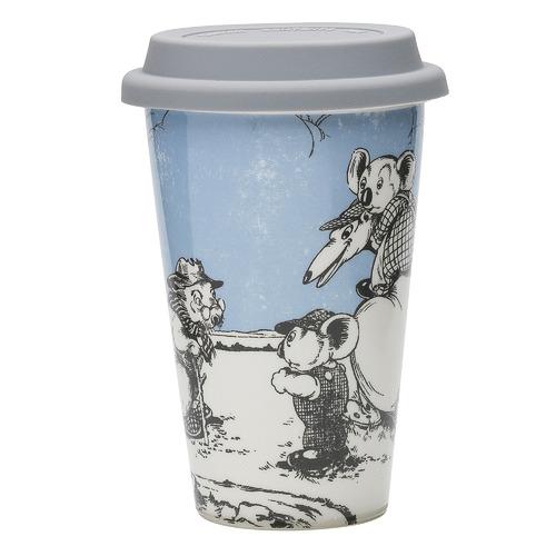 Blinky Bill by Ecology Blue Blinky Bill Double-Walled Travel Mug
