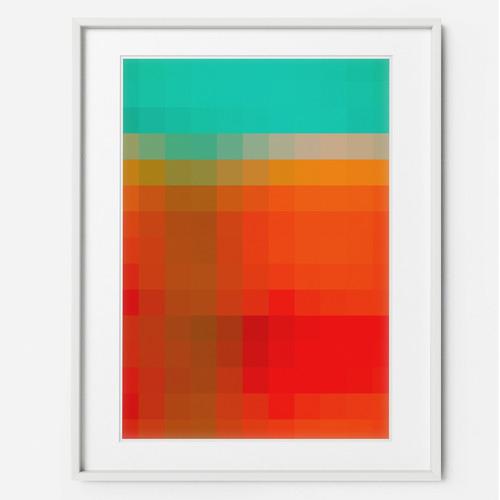 Art for Good Pixel Perfect Framed Print Wall Art