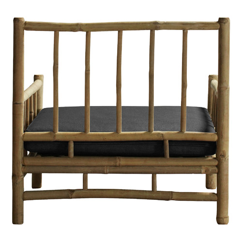 Wild Fig Trading Kusen Bamboo Outdoor Lounge Chair