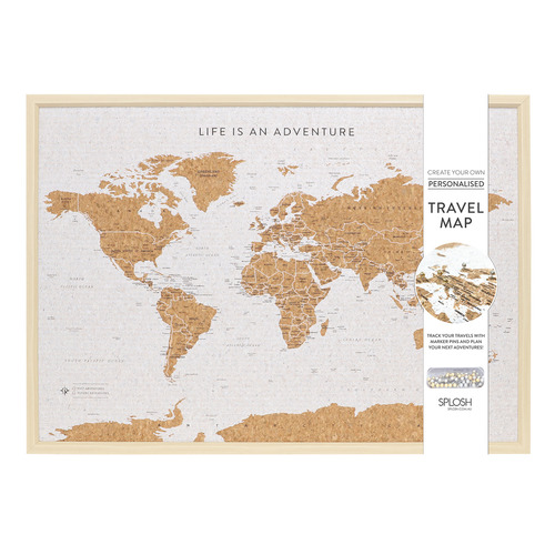 World Map Travel Board