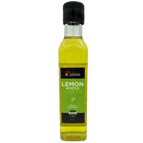 Australian Bush Spices 250ml Olive Oil Infused with Lemon Myrtle