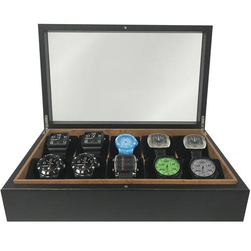Birdseye Woodgrain Watch Box