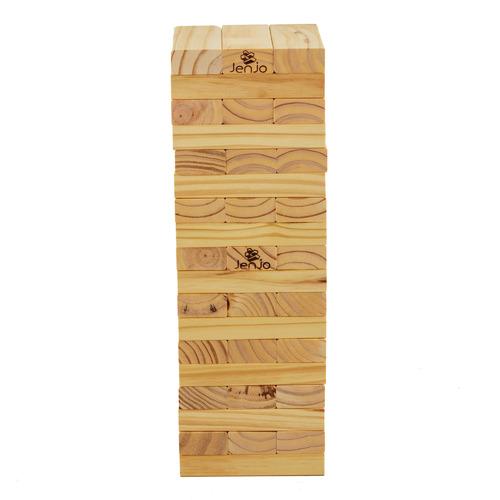 Jenjo Games 54 Piece Giant Jenjo Wooden Blocks Set